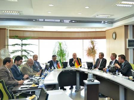 Germany's North Rhine-Westphalia Delegation in Tehran