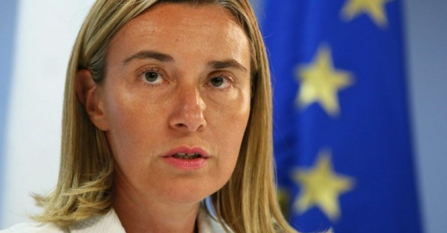 EU will stand by nuclear deal, Mogherini says