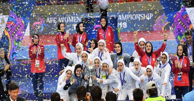 Iran lifts Asian futsal, karate, wrestling trophies